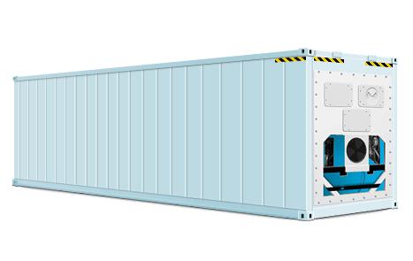 Vận chuyển hàng dễ hư hỏng trong container lạnh