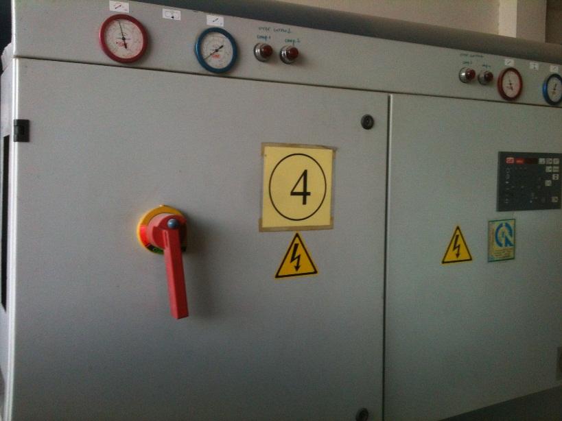 Máy làm lạnh nước Chiller 10